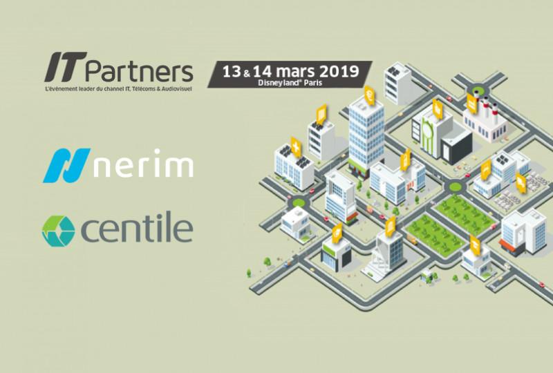 Nerim annonce sa participation aux côtés de Centile au salon IT Partners 2019, les 13 et 14 mars, sur le stand R33