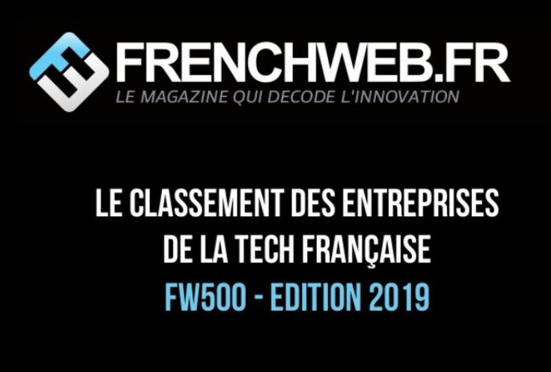 Nerim 54e au classement des entreprises de la Tech française 2019 !